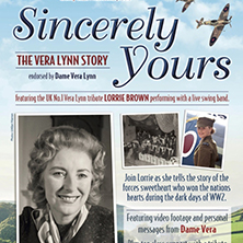 UK Award winner honours the Forces Sweetheart Dame Vera Lynn
