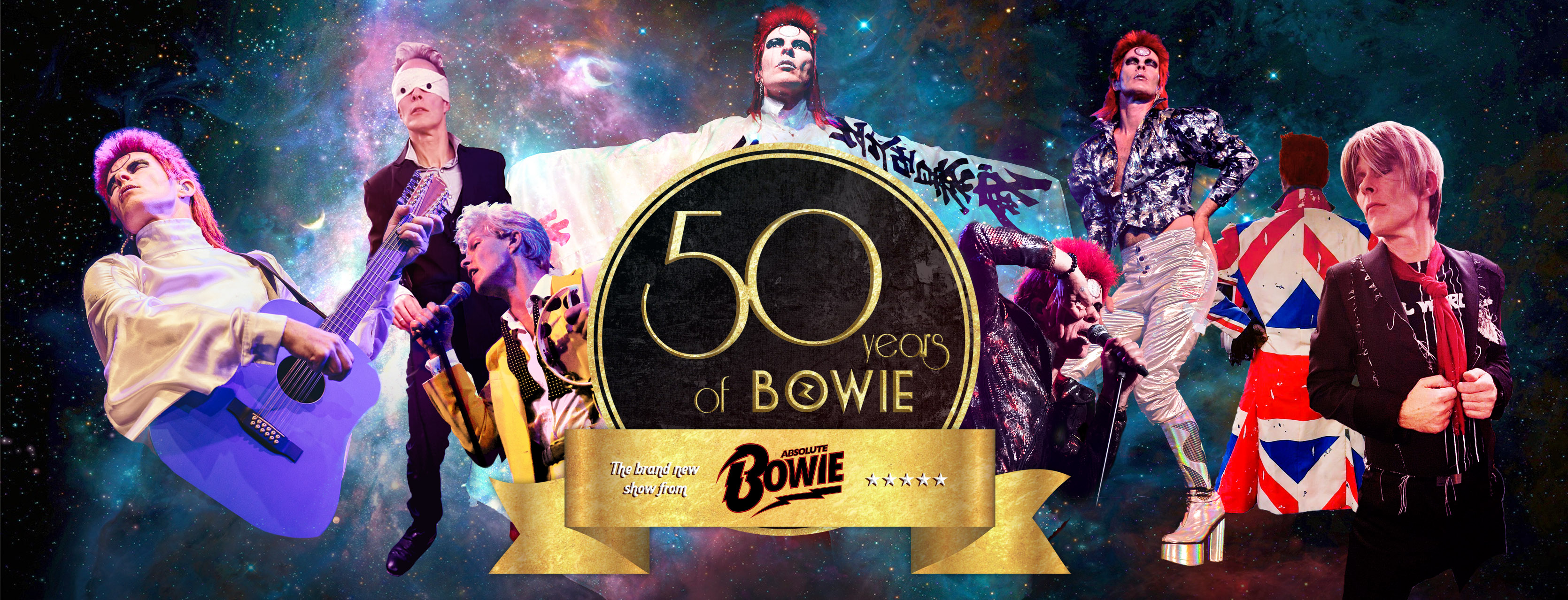 ABSOLUTE BOWIE PRESENT 50 YEARS OF BOWIE