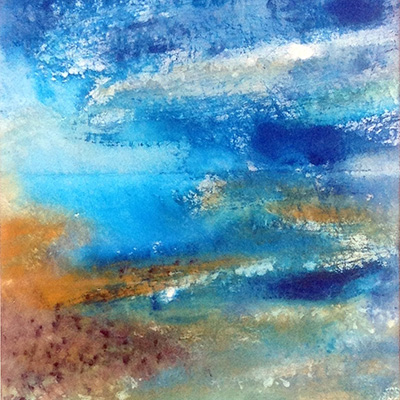 APRIL EXHIBITION: MAGGIE TWEED – BEYOND THE BLUE